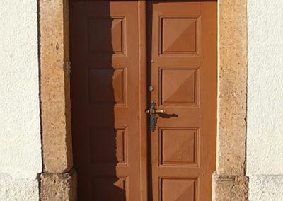 Haustür vorher